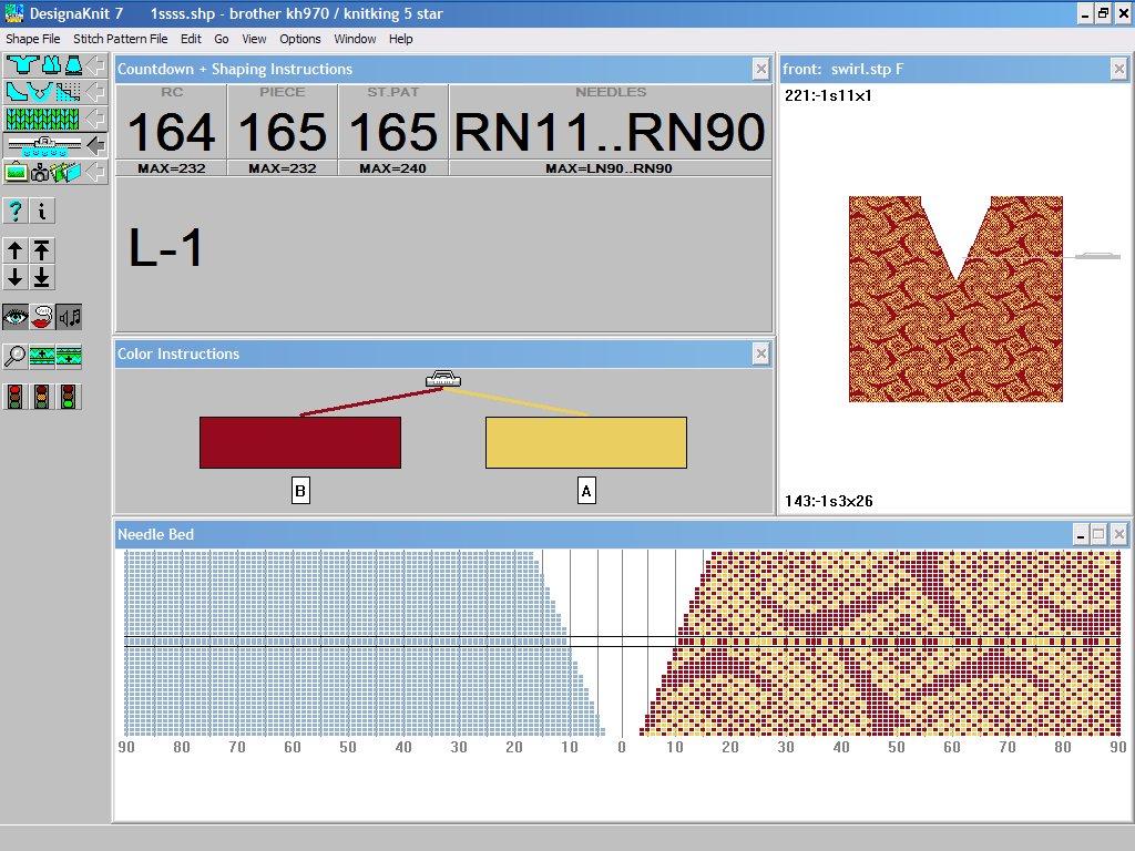 Knitting Pattern Design Software : Designaknit